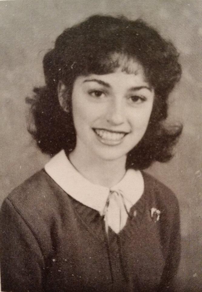 Karen Herrin in high school
